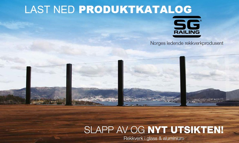 Produktkatalog fra SG Railing AS
